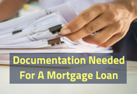 Required Documentation For A Mortgage Loan
