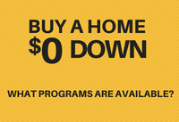 Buying A House With Zero Down? How To Qualify.