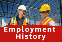 Employment History | Fire Your Landlord®