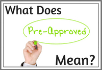 What Is  A Pre-Approval When Applying For A Mortgage?