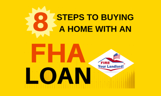 8 Steps to buying a home with an FHA Loan