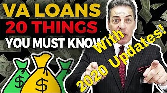 (VA Loan) VA Loan Requirements {2020 VA Loan Updates} VA Loans (Loan Officer) Home Loans